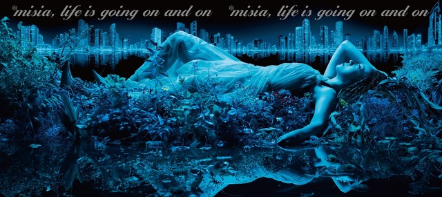 MISIA「Life is going on and on」初回限定盤ジャケット