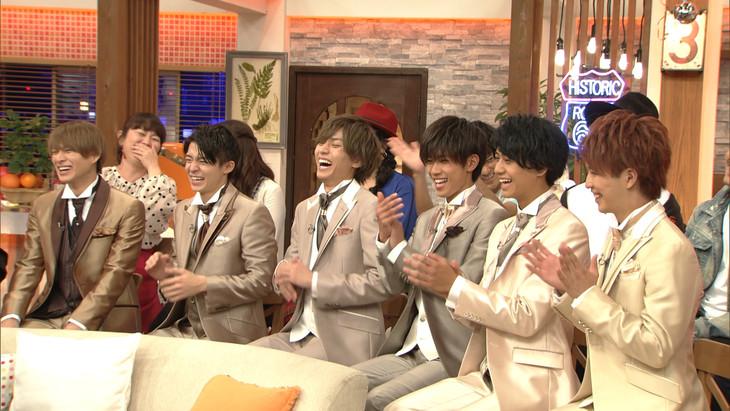 「第5回明石家紅白!」でトークを繰り広げるKing & Prince。(写真提供:NHK)
