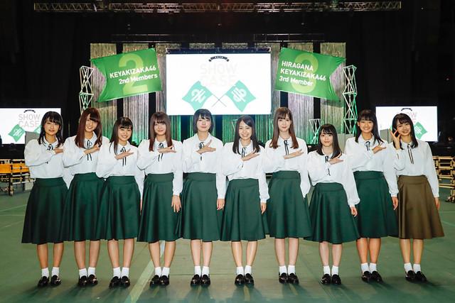 欅坂46の2期生とけやき坂46の3期生。(写真提供:ソニー・ミュージックレコーズ)