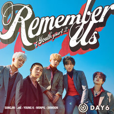 DAY6「Remember Us : Youth Part 2」配信ジャケット