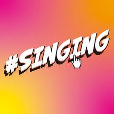 新しい地図 join ミュージック「#SINGING」配信ジャケット