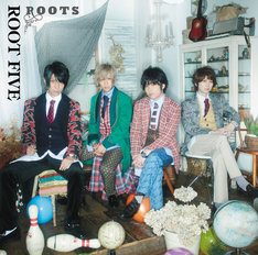 ROOT FIVE「ROOTS」初回限定盤Aジャケット