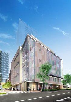 建て替え後の渋谷公会堂完成予想図。