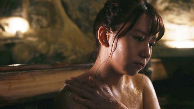 「さすらい温泉□遠藤憲一」第3話より大場美奈(SKE48)。