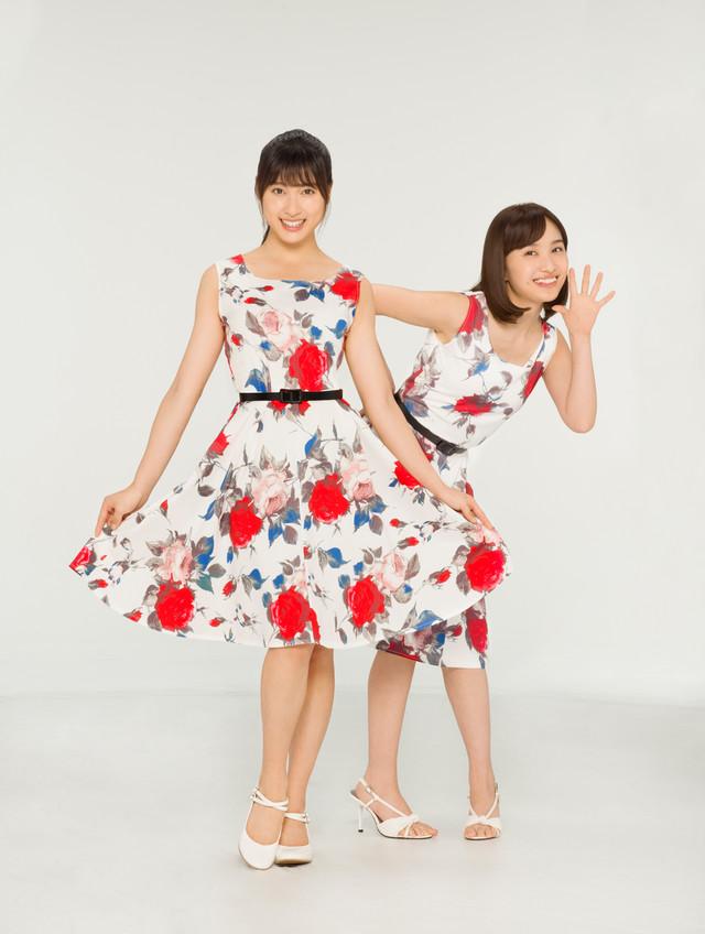 左から土屋太鳳、百田夏菜子。(c)読売テレビ