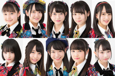 "AKB48の将来を担う若手メンバー""絶対的10人""って本当にこれでいいの?2~3人違和感あるんだが"