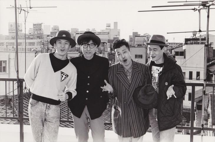 左からOto、s-ken、松竹谷清、こだま和文。