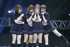左から中田花奈、和田まあや、川後陽菜、樋口日奈。(写真提供:ソニー・ミュージックレコーズ)