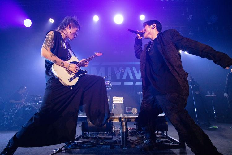 ライブレポート Miyaviがsky Hiと熱い 対戦 変わらぬ思い誓った名古屋