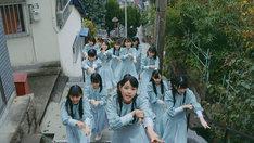 STU48「風を待つ」ミュージックビデオのワンシーン。