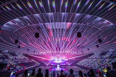 「BULLET TRAIN Arena Tour 2018 GOLDEN EPOCH」ツアーファイナルの様子。