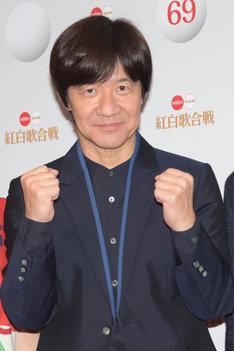 「第69回NHK紅白歌合戦」総合司会を務める内村光良。
