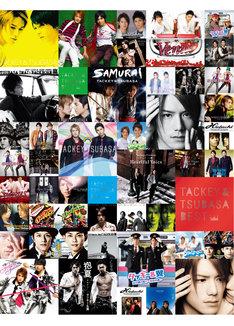 タッキー&翼「Thanks Two you」CD+DVD盤およびCD+Blu-ray盤ジャケット
