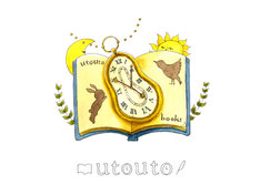 「utouto books」ロゴ