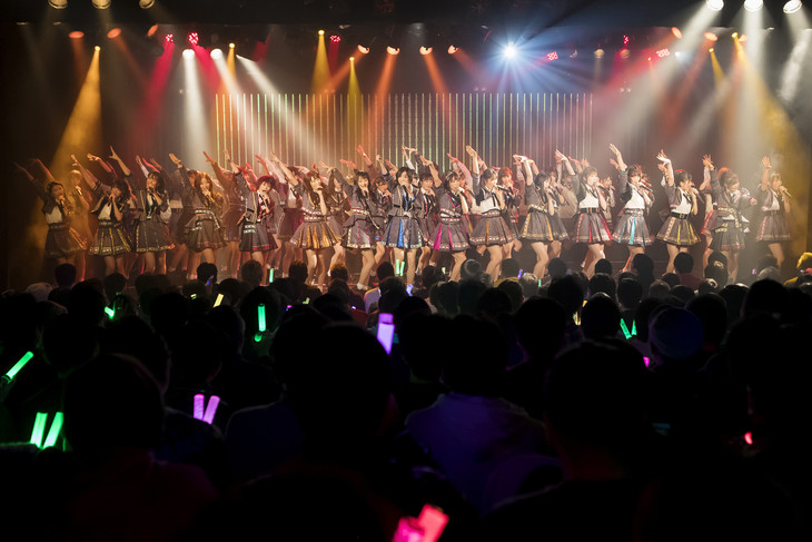 NMB48「2019年新春特別公演」の様子。(c)NMB48