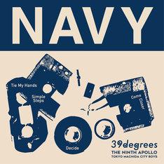 39degrees「Navy」ジャケット