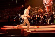 小田和正「明治安田生命Presents ENCORE!! Kazumasa Oda Tour2018」大阪・大阪城ホール公演の様子。(撮影:菊地英二)