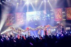 ゆるめるモ!の東京・Zepp Tokyo公演の様子。(撮影:後藤壮太郎)