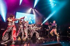 ゆるめるモ!の東京・Zepp Tokyo公演の様子。(撮影:曽我美芽)