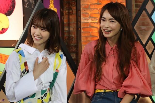 西野七瀬と長谷川京子。(写真提供:関西テレビ)