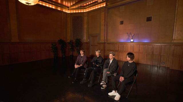 「V.I.P. -ONE OK ROCK- Eye of the Storm Special from Los Angeles」のワンシーン。