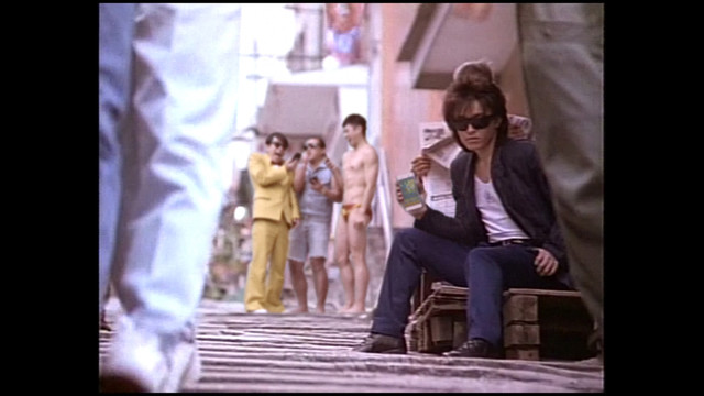 Web CM「モンストで GETWILD!ミュージックビデオ」篇のワンシーン。