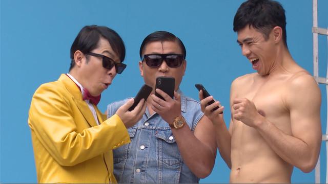 Web CM「モンストで GETWILD!ミュージックビデオ」篇メイキングシーン。