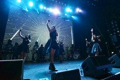 転校少女*「Star Light Tour」東京・ヒューリックホール東京公演の様子。