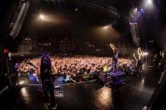 Crystal Lake「HELIX TOUR」の様子。(Photo by TAKASHI KONUMA )