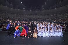 「ニッポン放送オールナイトニッポン presents ALL LIVE NIPPON 2019」ラストの様子。(写真提供:ニッポン放送)