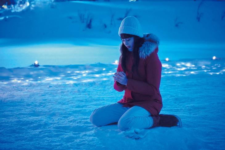 映画「雪の華」より。(c)2019 映画「雪の華」製作委員会