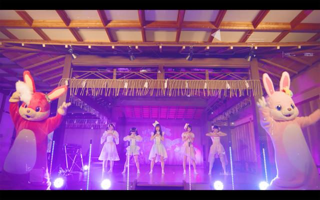 星歴13夜「おやすみ未来と恋乙女」MVのワンシーン