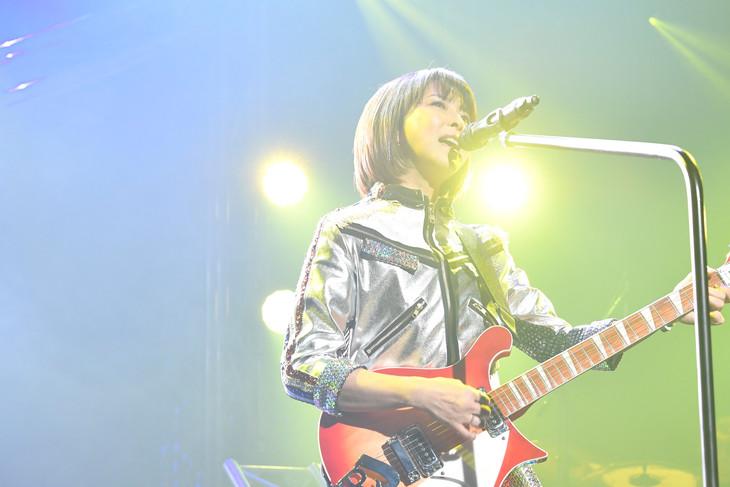 「森高千里『この街』TOUR 2019」初日公演の様子。(写真提供:アップフロントクリエイト)