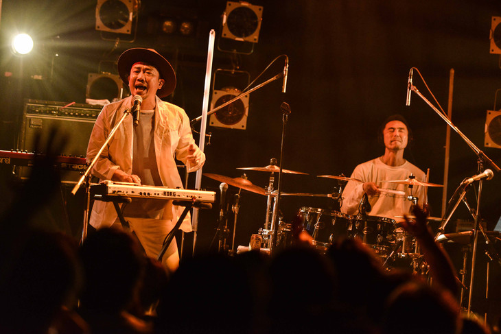 """FRONTIER BACKYARD「""""Fantastic every single day"""" release tour」東京振替公演の様子。"""
