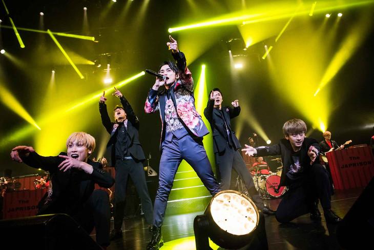 「SKY-HI TOUR 2019 -The JAPRISON-」初日公演の様子。