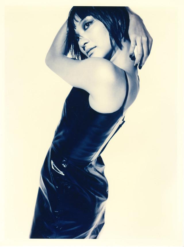 1998年、野村浩司が撮影したモデル時代のアミタマリ(写真提供:アミタマリ)