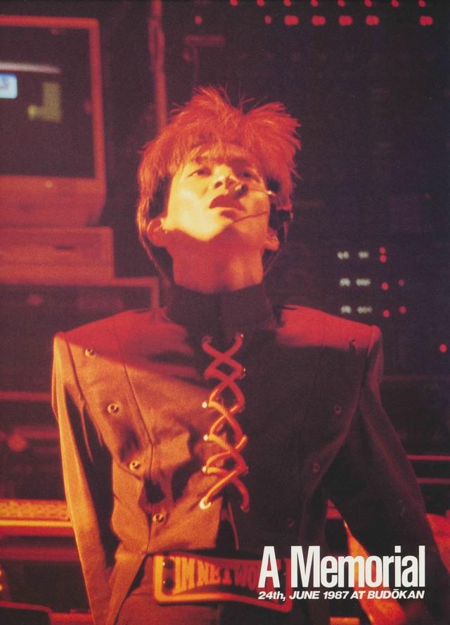 1987年6月、日本武道館「FANKS CRY-MAX」公演の様子(出典:「Kiss Japan TM NETWORK Tour '87~'88」パンフレット)。