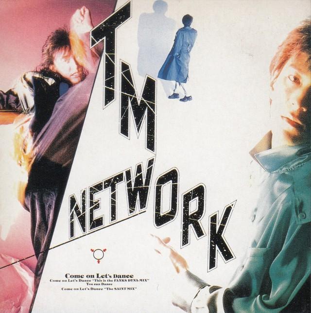 """1986年4月リリース「Come on Let's Dance」。タイトルそのものの躍動感あふれるデザインは、""""FANKS""""の宣言でもあった。(EPIC / SONY)"""
