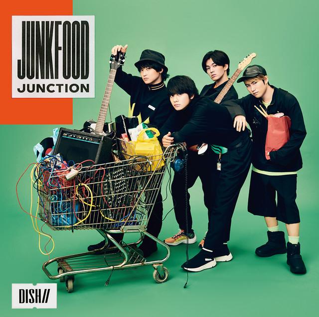 DISH//「Junkfood Junction」初回限定盤Aジャケット