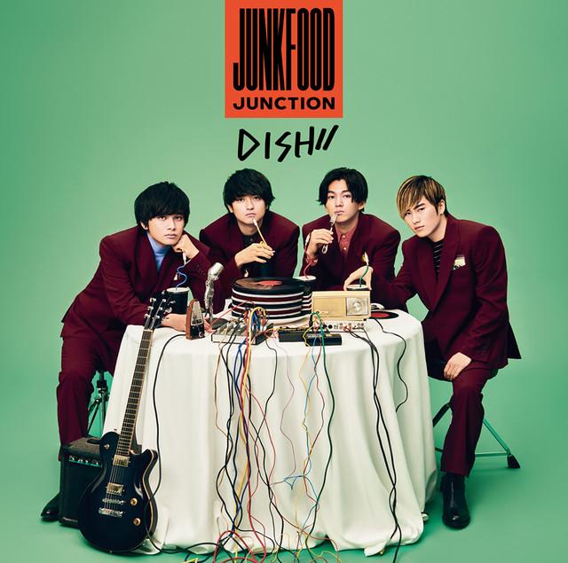 DISH//「Junkfood Junction」期間生産限定盤ジャケット