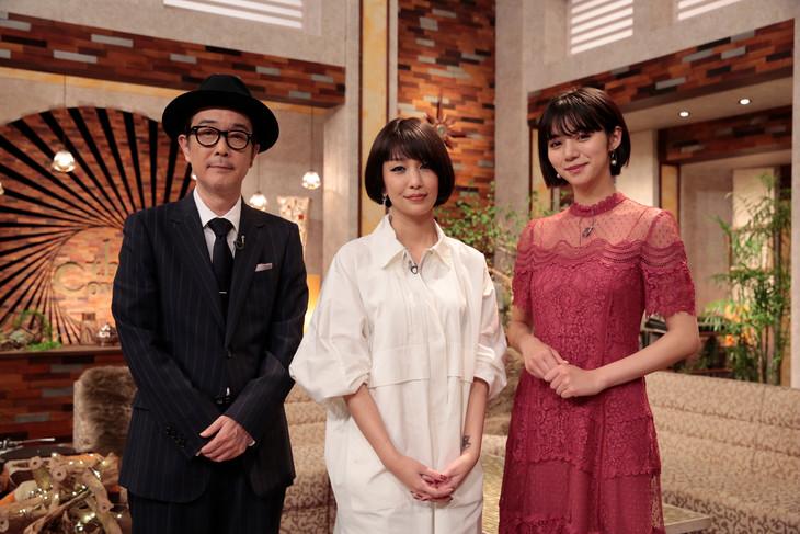 左からリリー・フランキー、中島美嘉、池田エライザ。(写真提供:NHK)