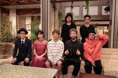 左からリリー・フランキー、池田エライザ、ORANGE RANGE。(写真提供:NHK)