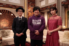 左からリリー・フランキー、岡崎体育、池田エライザ。(写真提供:NHK)