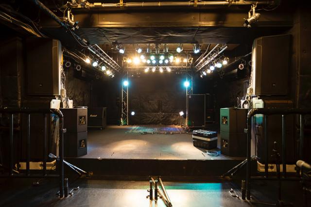 Queblickのステージ。