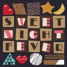 Chara×BASI(韻シスト)「Sweet Night Fever」ジャケット