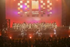 ORANGE RANGE「ORANGE RANGE LIVE TOUR 018-019 ~ELEVEN PIECE~」NHKホール公演の様子。(撮影:平野タカシ)
