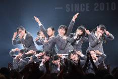 さくら学院「The Road to Graduation 2018 ~Happy Valentine~」の様子。