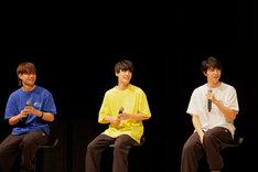 左からカイ、ユースケ、タカシ。