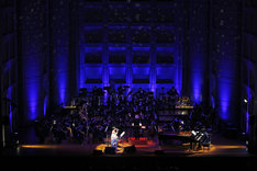 「billboard classics Salyu with小林武史 premium symphonic concert 2019 -Valentine's Special-」の様子。(撮影:フォトスタジオアライ 豊嶋良仁)