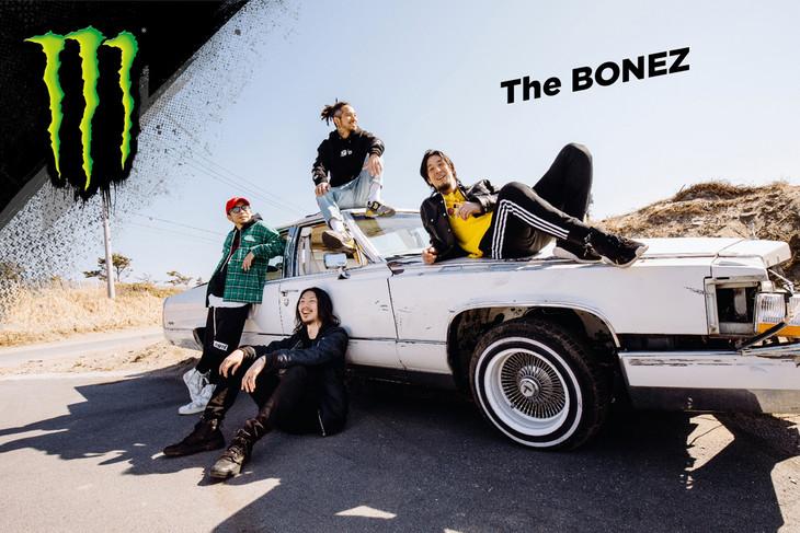 The BONEZ「モンスターエナジー」ビジュアル
